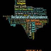 Art Print, Pop Art Texas Map, Modern Style Country Map, Country Maps For Home Decor, Pop Art Map Pri Art Print