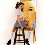 Art Student Art Print