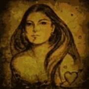 Artemis Who Art Print