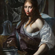 Artemisia Prepares To Drink The Ashes Of Her Husband Mausolus    Art Print