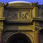 Artful Palace Of Fine Arts Art Print