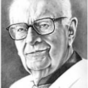 Arthur C. Clarke Art Print