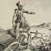 Artillery Caisson Art Print