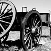Artillery Wagon Art Print