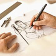 Artist At Work - So Yeon Ryu Part 1 Art Print