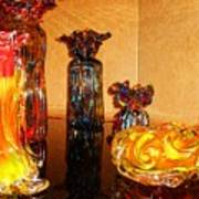Artistic Glass 2 Art Print