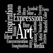 Artistic Inspiration Art Print