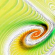 Artistic Spiral Art Print