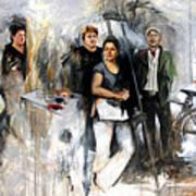 Artists From Windsor Art Print