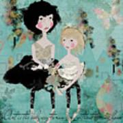 Artsy Girls Art Print