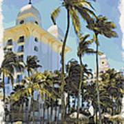 Aruba Palms Two Art Print