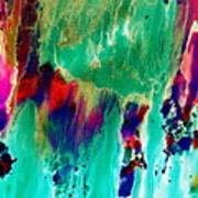 As The Colors Blend.. Art Print