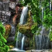 As The Water Falls Art Print
