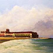 Asbury Park Convention Hall Art Print