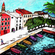 Ascona Imaginario Art Print
