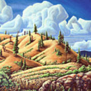 Ashcroft Landscape Art Print