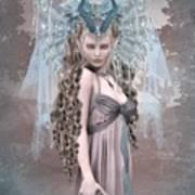 Ashen Queen Of The Mountain 2 Art Print