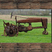 Ashes To Ashes - Rust To Rust Art Print
