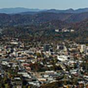Asheville, City, Downtown, Nc, North Carolina, Mountains, Mountains, Real Estate, Blue Ridge Mountai Art Print
