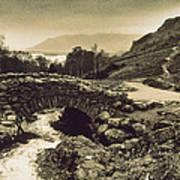 Ashness Bridge Cumbria England Art Print