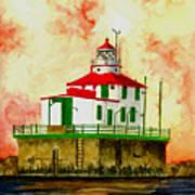 Ashtabula Lighthouse Art Print