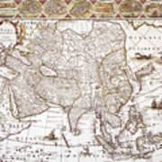 Asia: Map, C1618 Art Print