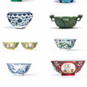 Asian Art Chinese Pottery Art Print