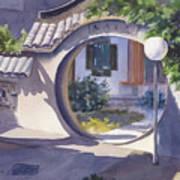 Asian Portal Art Print