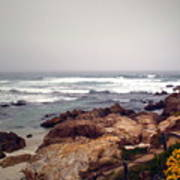 Asilomar Beach Pacific Grove Ca Usa Art Print