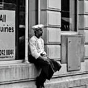 Ask The Chef Print by Paul Jarrett