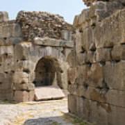 Asklepios Temple Ruins Art Print
