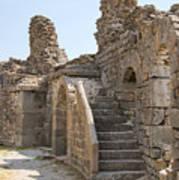 Asklepios Temple Ruins View 2 Art Print