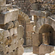 Asklepios Temple Ruins View 3 Art Print