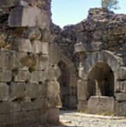 Asklepios Temple Ruins View 4 Art Print