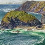 Asparagus Island Art Print