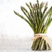 Asparagus Vintage Print by Jane Rix