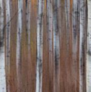 Aspen Abstract Vertical Art Print