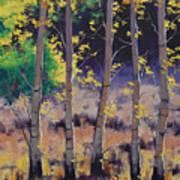 Aspen Colors Art Print