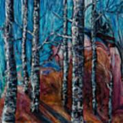 Aspen Grove - 2 Art Print