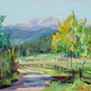 Aspen Lane Art Print