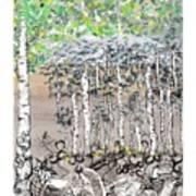 Aspendoodle Art Print