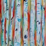 Aspens Abstract IIi Art Print