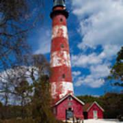 Assateague Lighthouse Art Print