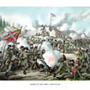 Assault On Fort Sanders Art Print