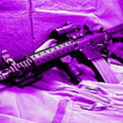 Assault Rifle Art Print