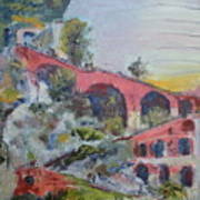 Assenseur Du Chateau Art Print