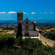 Assisi-basilica Di San Francesco Art Print