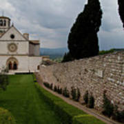 Assisi Church Art Print