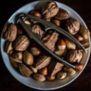 Assorted Nuts Art Print