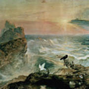 Assuaging Of The Waters Art Print